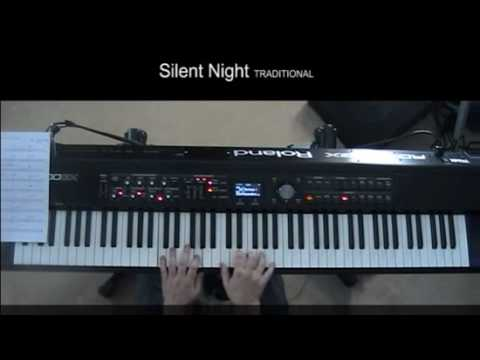 Silent Night Jazz Version On Piano Youtube