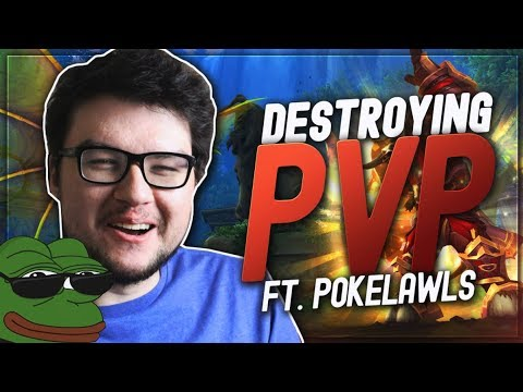DYRUS MAKES WoW PVP LOOK EZ! FT. POKELAWLS