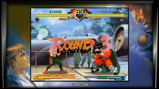RMG Rebooted EP 156 Street Fighter Alpha 2 PS4 Game Review