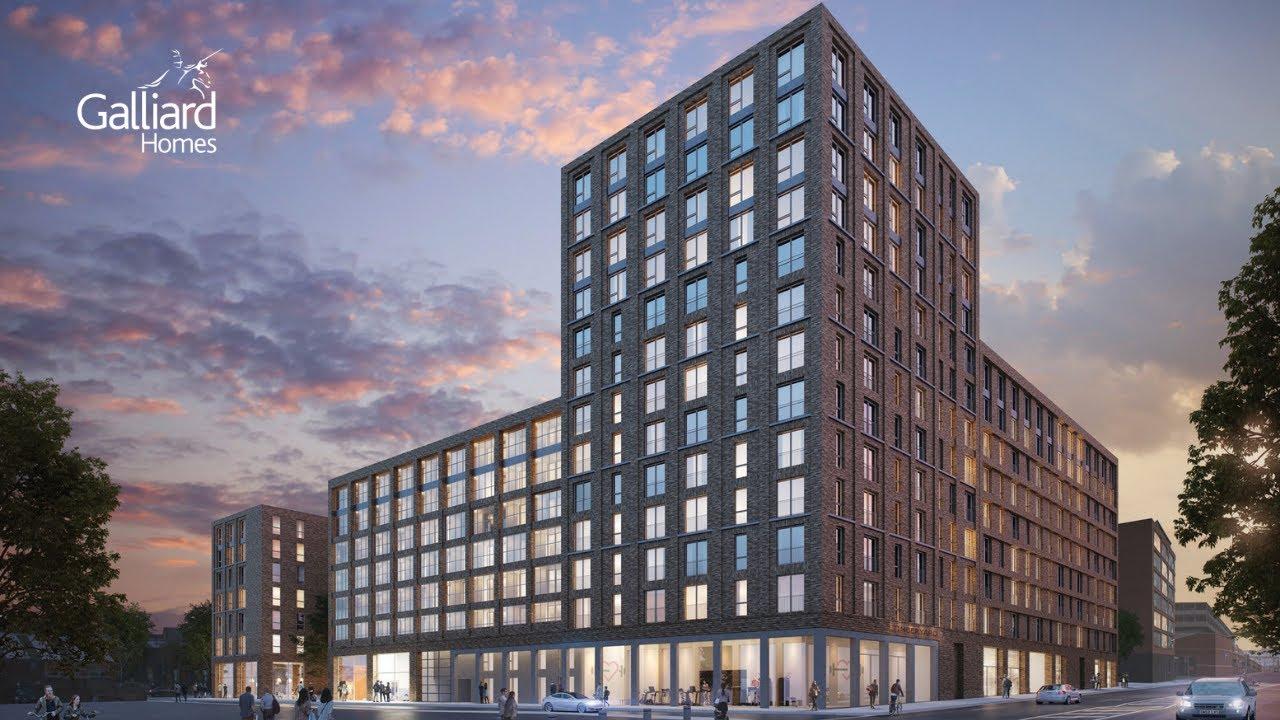Galliard Homes Development - The Timber Yard, Birmingham ...