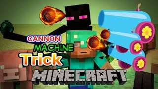 Cara Membuat Machine Cannon diMinecraft PE