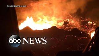 Video 23 injured as lava bomb hits tour boat in Hawaii download MP3, 3GP, MP4, WEBM, AVI, FLV Juli 2018