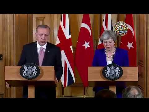 Erdoğan'dan muhteşem kapak! / Theresa May şaştı kaldı!