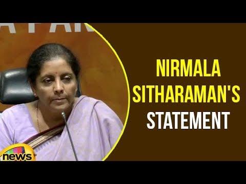 Defence Minister Smt Nirmala Sitharaman Press Conference | Nirmala Sitharaman Statement | Mango News