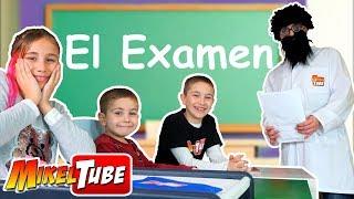 Leo, Lola y Mikel tienen un Examen en la clase del profesor NoVe. L...