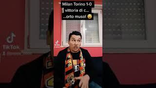 Milan Torino 1-0, vittoria di c...orto muso! 😅 #shorts