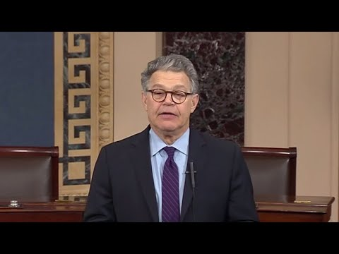 Impact of Al Franken's resignation from the Senate