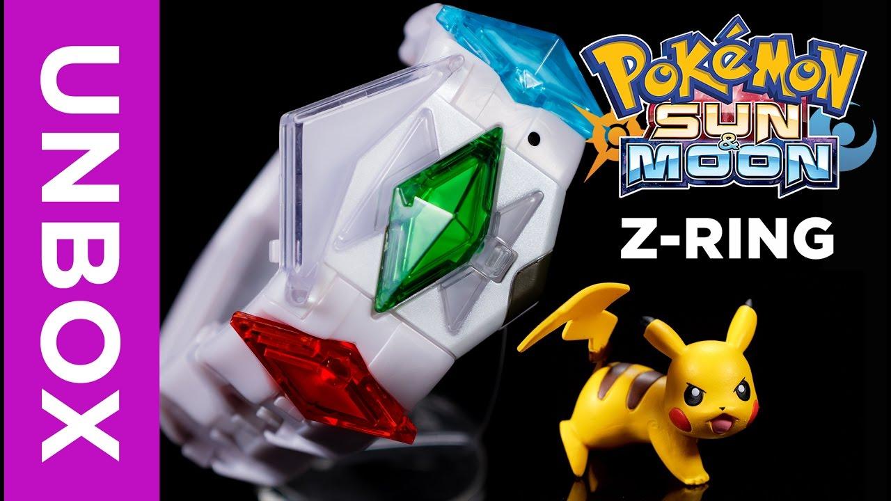 Tomy Pok 233 Mon Z Ring Unboxing Pok 233 Mon Sun Amp Moon Youtube