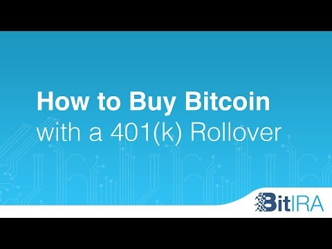 How To Buy Bitcoin With A 401k Rollover