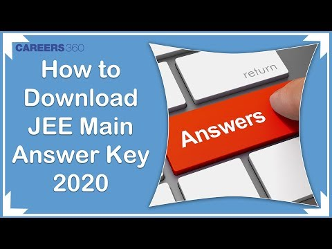 jee-main-2020-official-answer-key-and-question-paper-released-by-nta-|-challenge-answer-key