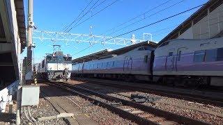 中央東線 特急スーパーあずさ & あずさ 157 南松本駅 E351系 EF64