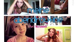 Meine ABENDROUTINE | DIY Badezusazt, Locken Ohne Hitze, ... 2014
