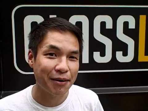 Tobias Wong at GlassLab Cooper-Hewitt, 2008