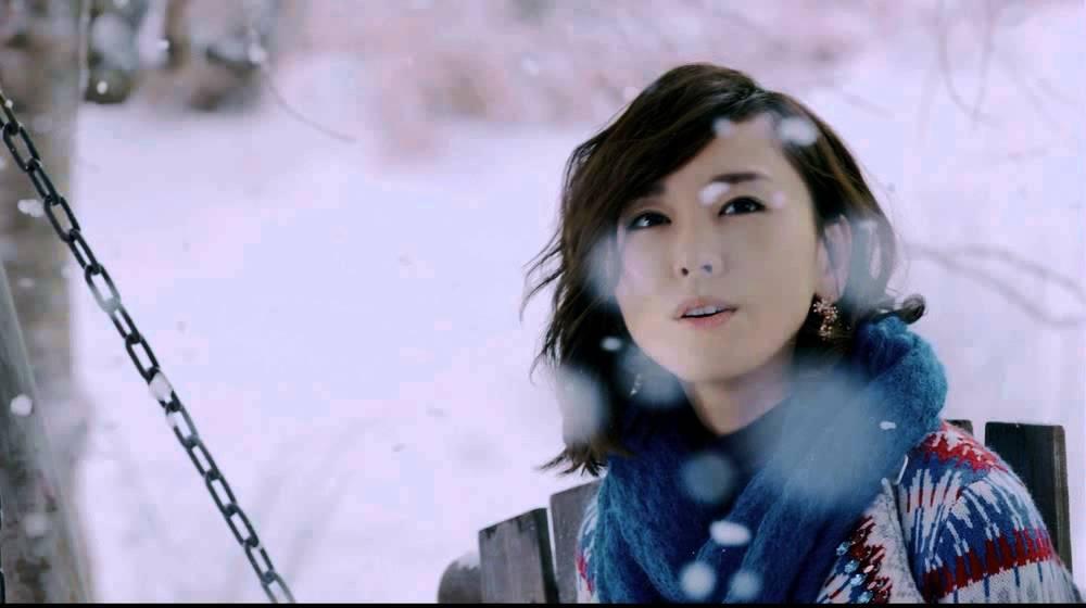 雪の中の新垣結衣さん