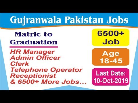 Ideal Testing Service Gujranwala/Pakistan Say Job City