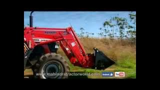 Mahindra Tractors in various applications