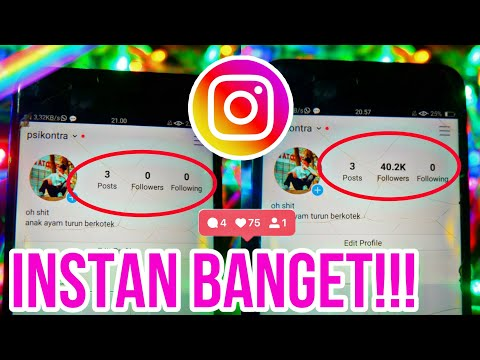 CARA MENAMBAH FOLLOWERS INSTAGRAM 40K
