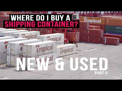 Where to BUY a Shipping Container | New & Used