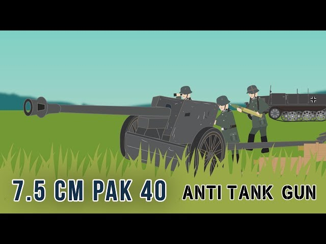 7.5 cm Pak 40 Anti-tank gun (World War II)