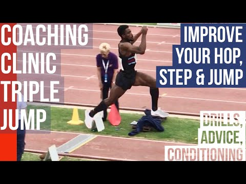 COACHING CLINIC TRIPLE JUMP - improve your hop, step & jump