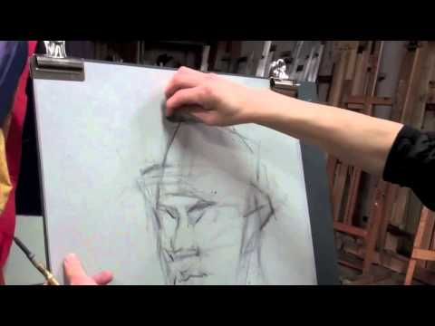 draw-a-portrait-in-charcoal-and-chalk-(part-1)-—-the-art-league-school