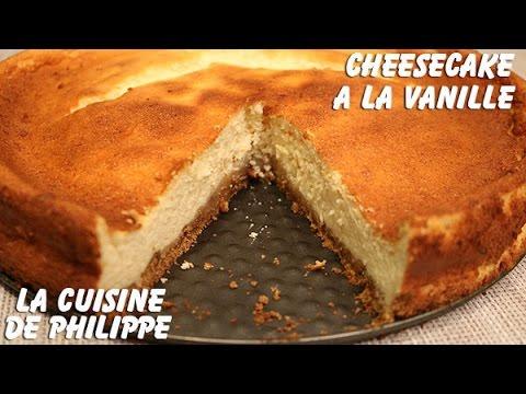 cheesecake-à-la-vanille