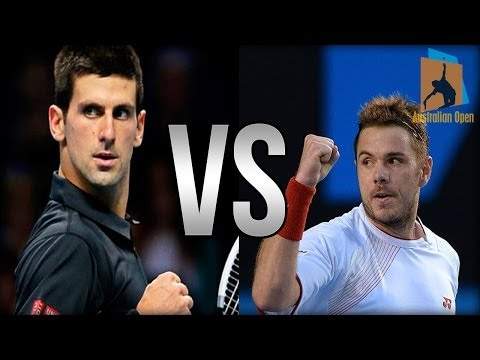 Stanislas Wawrinka Vs Novak Djokovic Australian Open 2014 HIGHLIGHTS