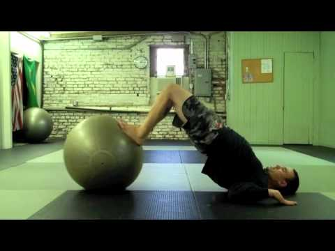 Stability Ball Training for BJJ
