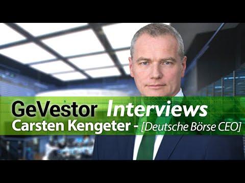Interview mit Carsten Kengeter zur Fusion der Deutschen Börse mit der LSE