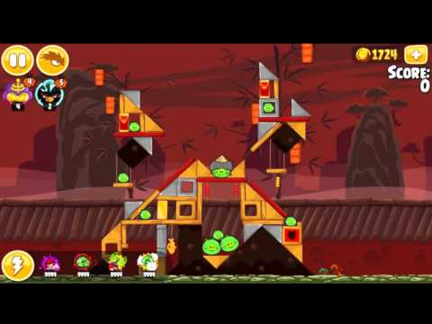 Angry Birds Seasons Year of the Dragon All levels