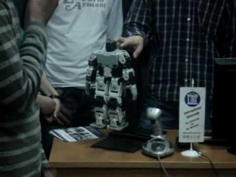 Interesting Robot Men - Prishtina Kosovo UBT University