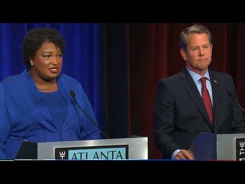 Stacey Abrams Slams Brian Kemp on Suppressing Vote as He Worries Too Many Georgians Will Vote