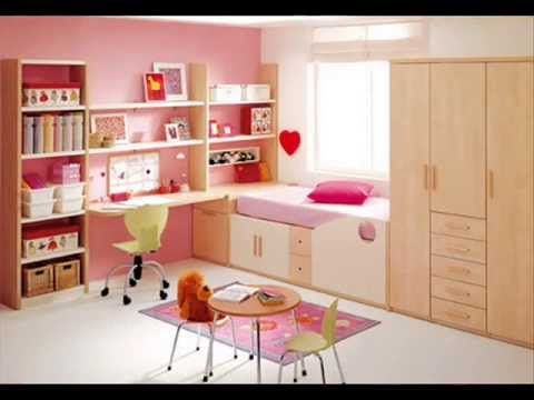 Decorating Kids Rooms - walls, beds, furniture - YouTube
