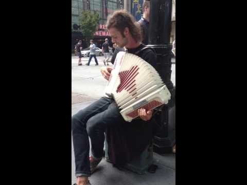 Talented musician plays Legend of Zelda on accordion at PAX Seattle 2013.