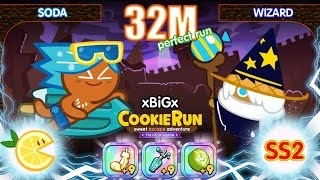 Cookie Run Ss2 : Soda+wizard+lemon : 32m !! [review]
