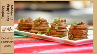 Chipotle Potato Stackers | Tailgating Recipe