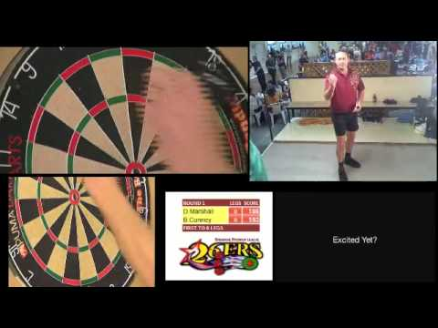 Brisbane Premier League of Darts - Dave Marshall v Brendan Cunney