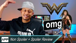 Wonder woman review! saved dceu! best comic book movie ever?! spoiler talk!!