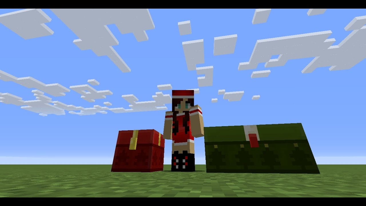 Christmas Chest in Minecraft! - YouTube