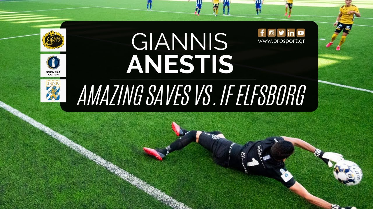 Giannis Anestis was the hero of IFK Goteborg