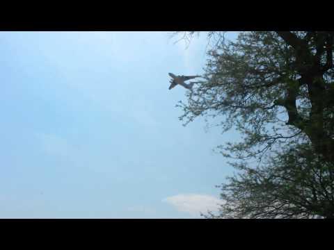 South Sudan Humanitarian Aid Air Drop