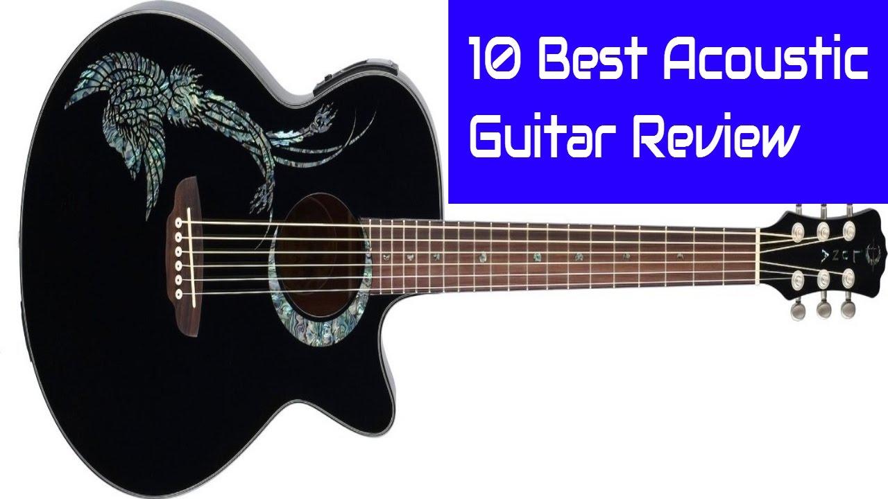 10 Best Acoustic Guitar Review 2017 Bestacousticguitarreview