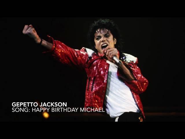 Gepetto - Happy Birthday Michael Jackson Song