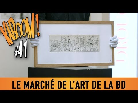 KABOOM! #41 - Le marché de l'Art en BD.