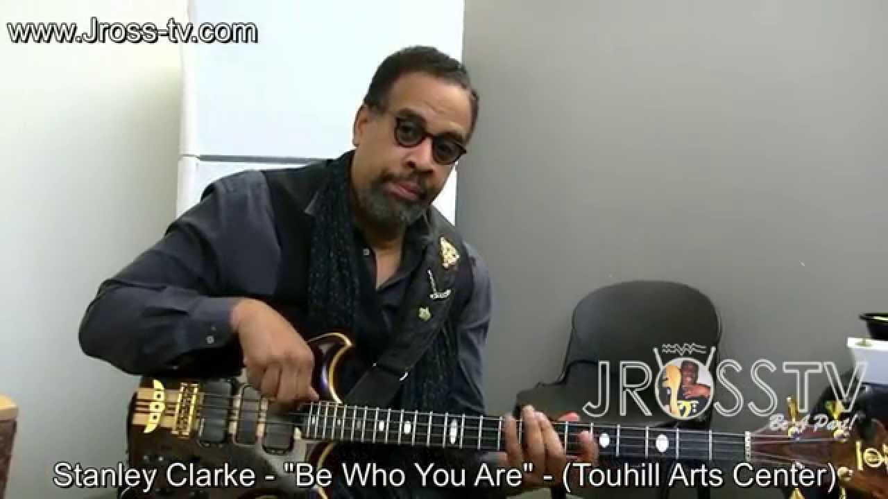 """James Ross @ Stanley Clarke (Interview) - """"Be Who You Are ..."""