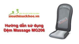 Hướng dẫn sử dụng Đệm massage Beurer MG206