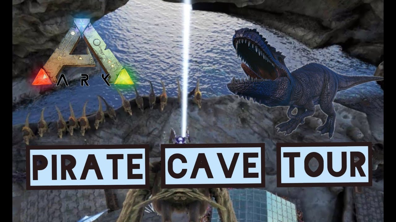 ARK Ragnarok: PIRATE CAVE TOUR