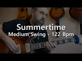 Download Summertime - Backing Track - PlayAlong - Medium Swing 122 bpm MP3 song and Music Video