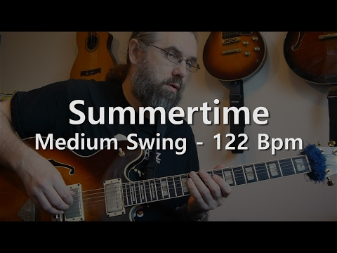 Summertime - Backing Track - PlayAlong - Medium Swing 122 bpm