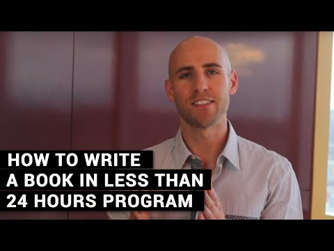 How To Write A Book In Less Than 24 Hours Program